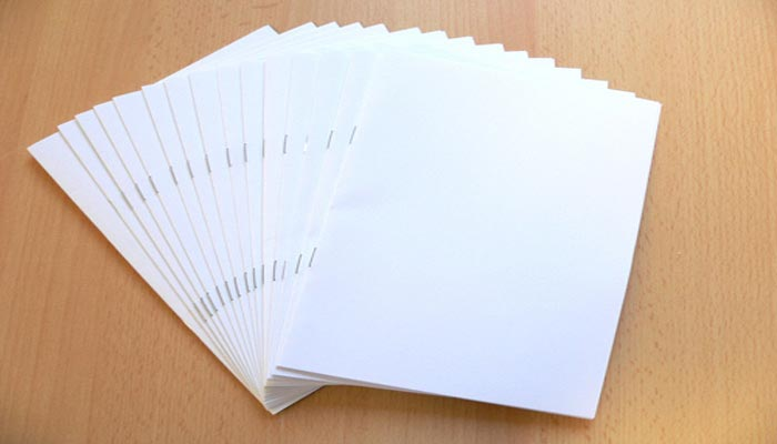 Musterbindung Bookletmaker